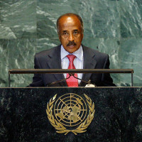 The Foreign Minister of Eritrea addresses the UN General Assembly. Credit: UN Photo/Marco Castro