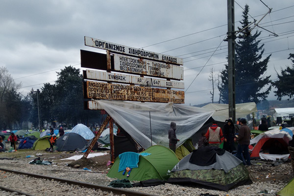 """We Are in Europe, We Have Rights"" – Field Report from Idomeni"